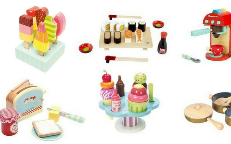 Wooden Play Food: The Cutest Pieces to Complete Your Kids' Play Kitchen