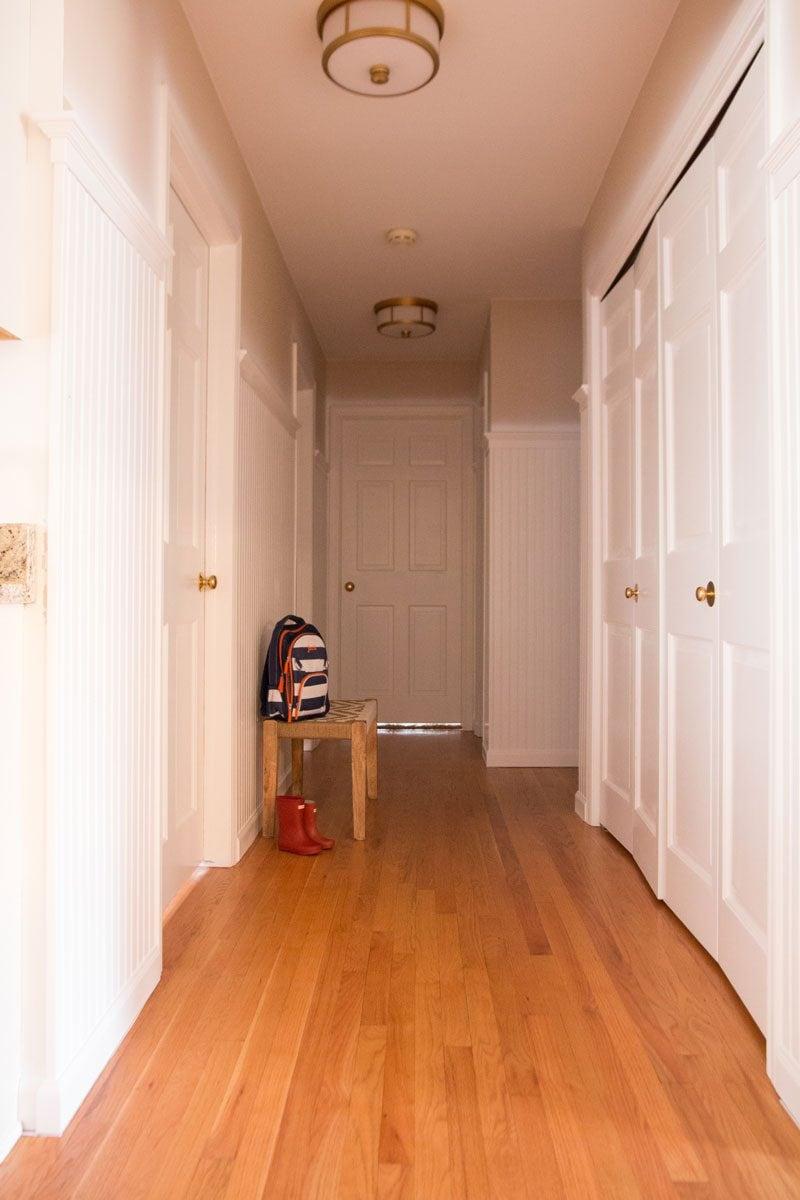 Semi Flush Ceiling Lights by popular home decor blogger DIY Decor Mom