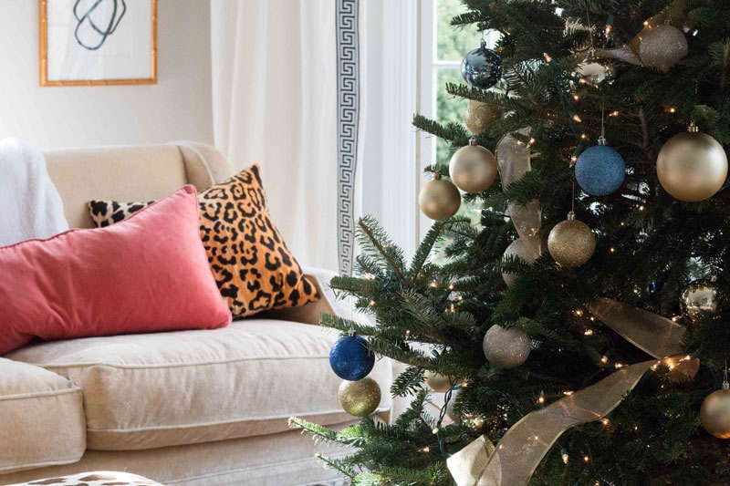 Our Christmas Tree Theme by popular home decor blogger DIY Decor Mom
