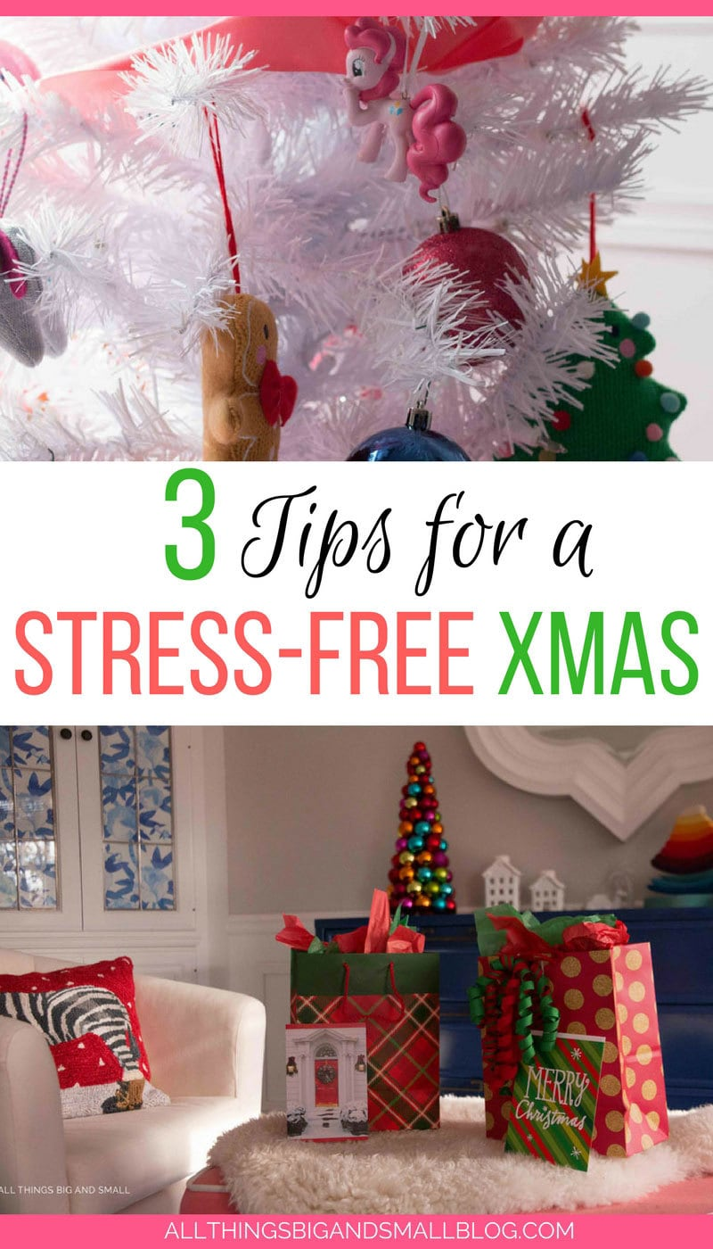 Love these tips to make Christmas easier for busy moms and enjoy the season more! #HallmarkAtWalgreens #AD @Walgreens - 3 Tips to a Stress Free Christmas to Have More Fun by popular home decor blogger DIY Decor Mom