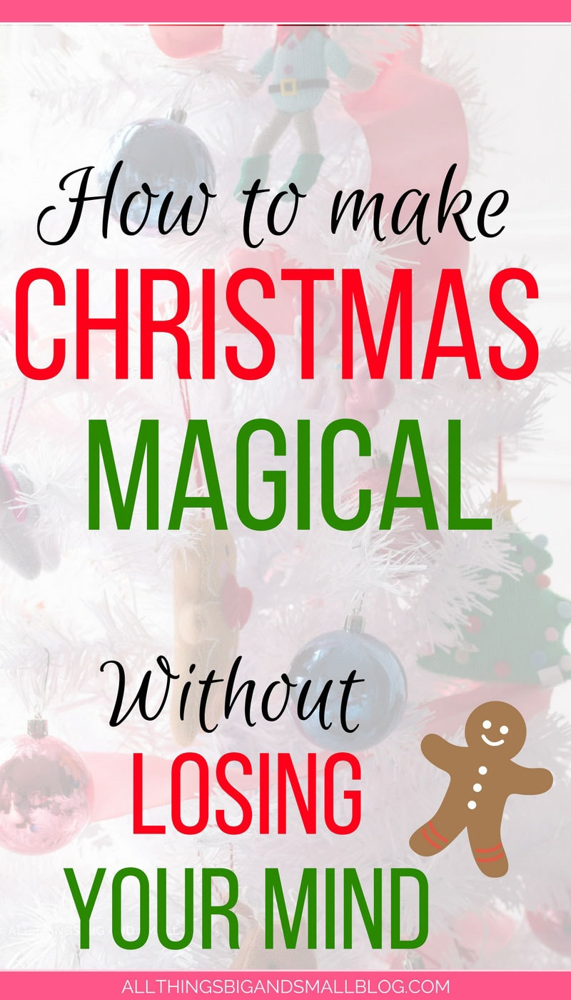 Great tips to make Xmas magical for kids but easier for moms! Love these tips to make Christmas easier for busy moms and enjoy the season more! #HallmarkAtWalgreens #AD @Walgreens - 3 Tips to a Stress Free Christmas to Have More Fun by popular home decor blogger DIY Decor Mom