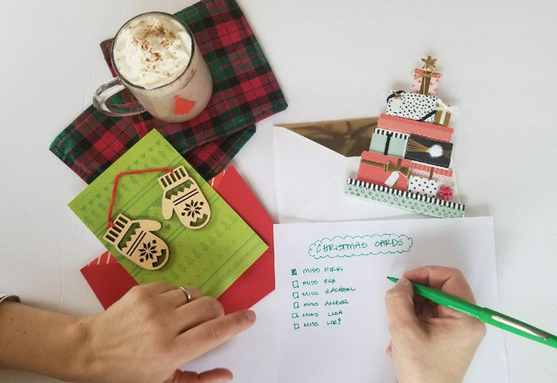how-to-make-xmas-season-easy - 3 Tips to a Stress Free Christmas to Have More Fun by popular home decor blogger DIY Decor Mom