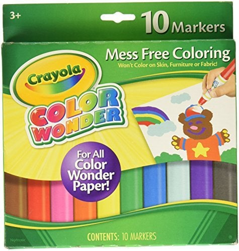 mess free markers make the perfect art gifts for preschoolers - Art Gifts for the Preschooler who Wants to Be an Artist by popular mom blogger DIY Decor Mom