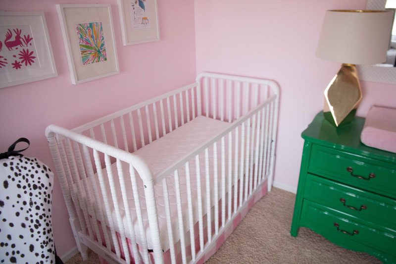 Breathable Crib Mattress: Brooke's New Bed and Bedroom by popular mo blogger DIY Home Decor