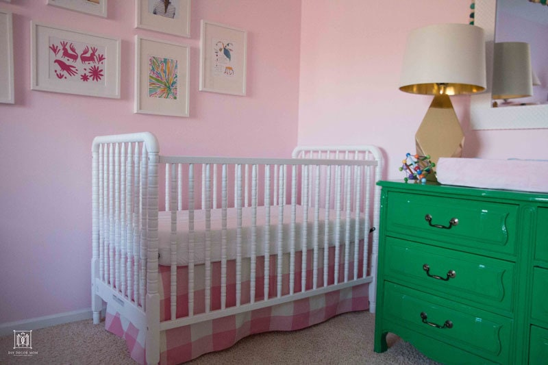 a candid review of newton baby mattresss--the only breathable baby mattress - Breathable Crib Mattress: Brooke's New Bed and Bedroom by popular mo blogger DIY Home Decor