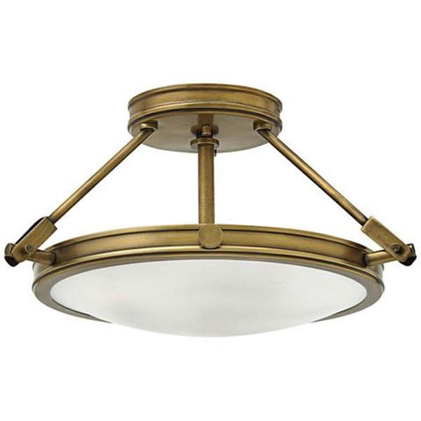 budget friendly semi flush ceiling light -Semi Flush Ceiling Lights by popular home decor blogger DIY Decor Mom