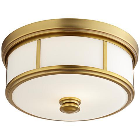 semi flush ceiling light harbour point - Semi Flush Ceiling Lights by popular home decor blogger DIY Decor Mom