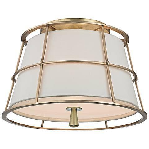 such a pretty semi flush ceiling light - Semi Flush Ceiling Lights by popular home decor blogger DIY Decor Mom