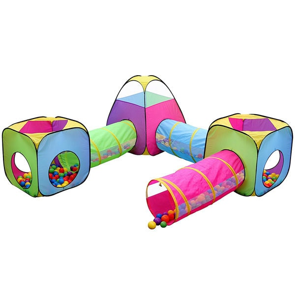 toy ideas for toddlers and preschoolers- tent and tunnel