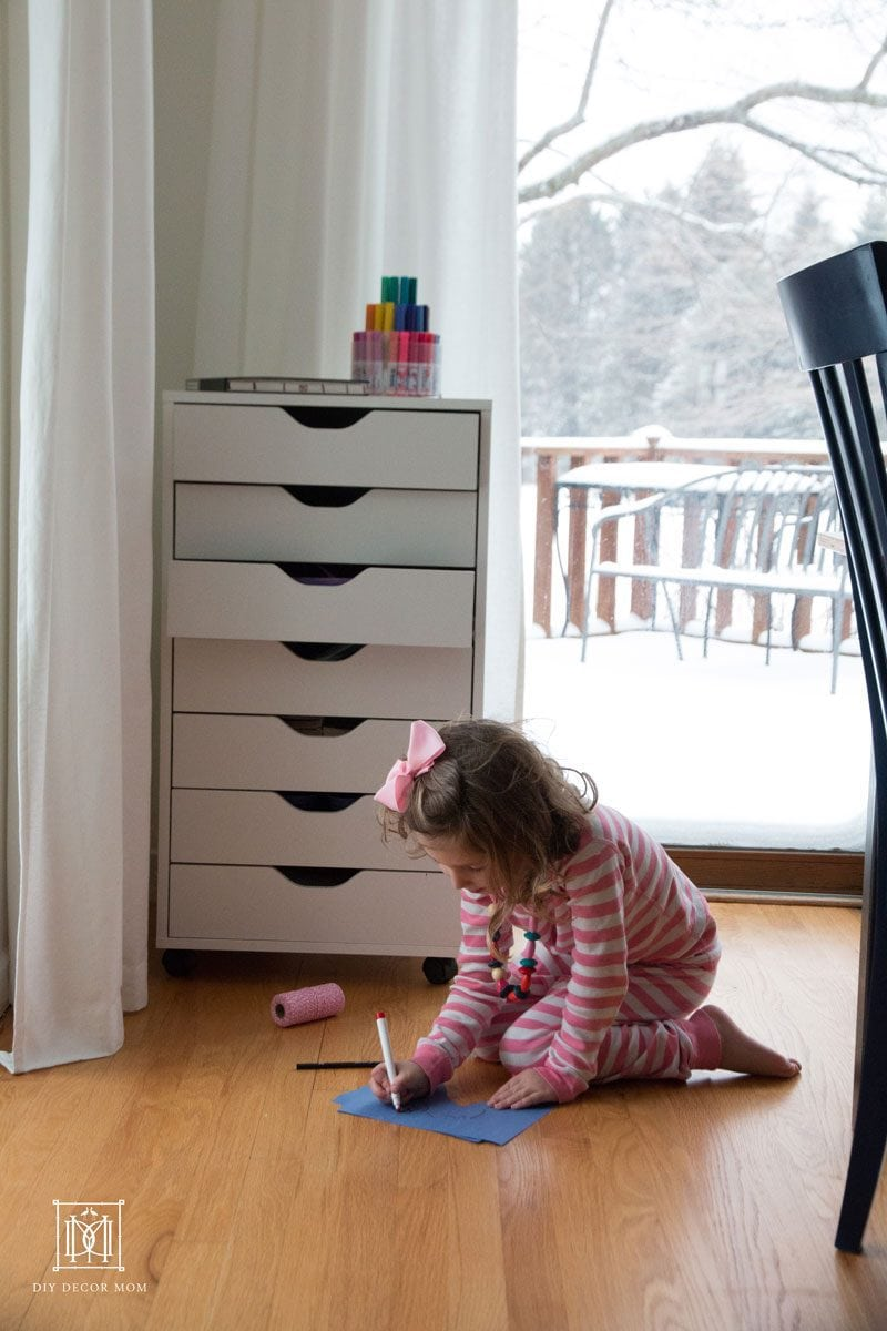 A Kids Art Storage Solution! Home Decor Blogger And Mom Of 3,