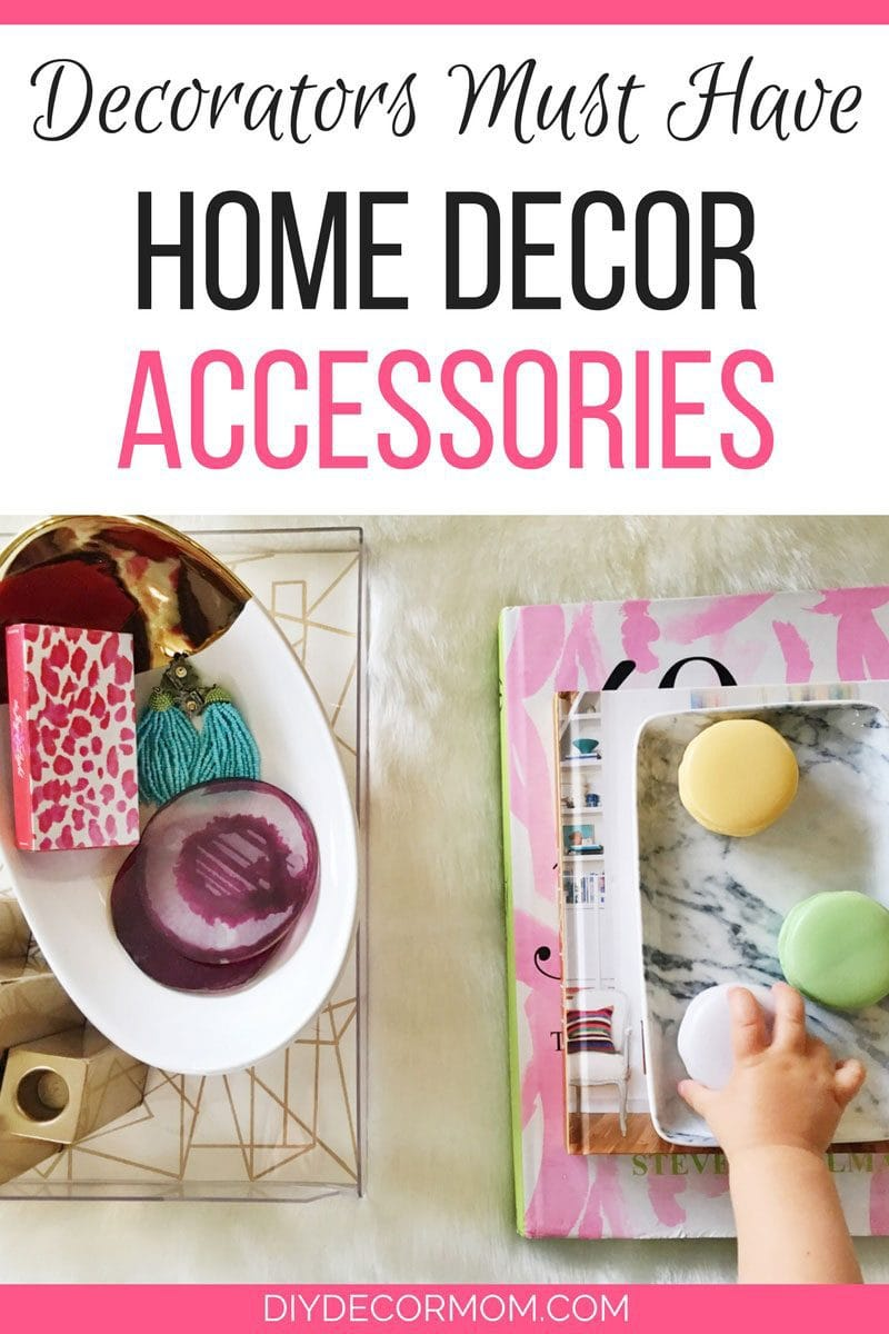 you will love these must have home decor accessories that decorators always have on - Diy Home Decor Accessories