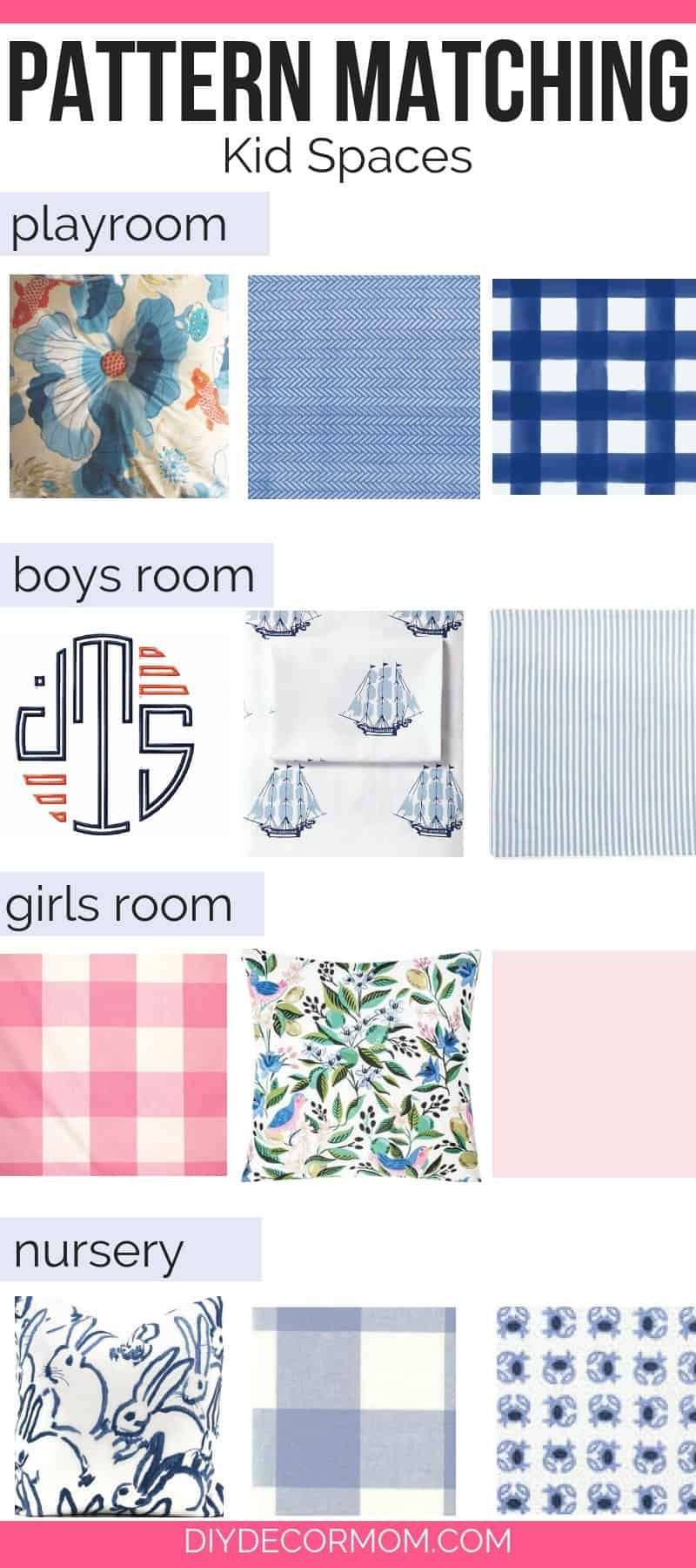 how do i pick out fabric patterns for my house- guide to mixing fabric patterns