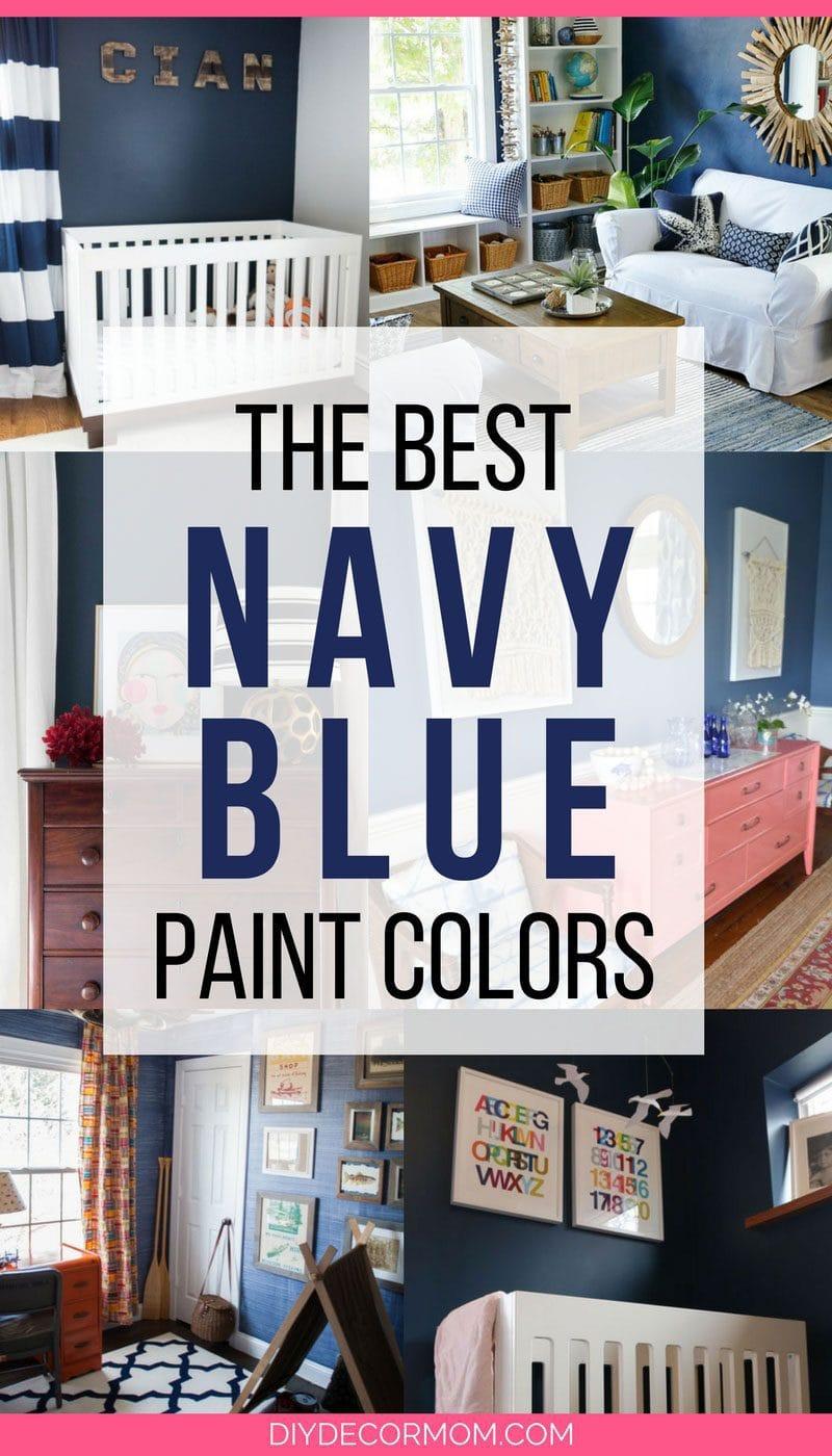 best navy blue paint rooms