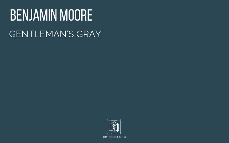 benjamin moore gentlemans gray swatch