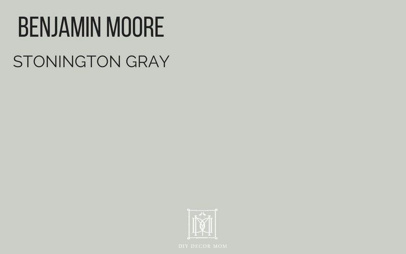 benjamin moore stonington gray- great gray paint colors