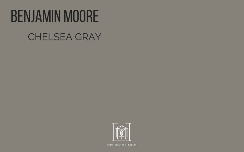 benjamin moore chelsea gray paint color- best gray paint colors