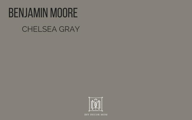 benjamin moore chelsea gray paint color- best gray paint colors