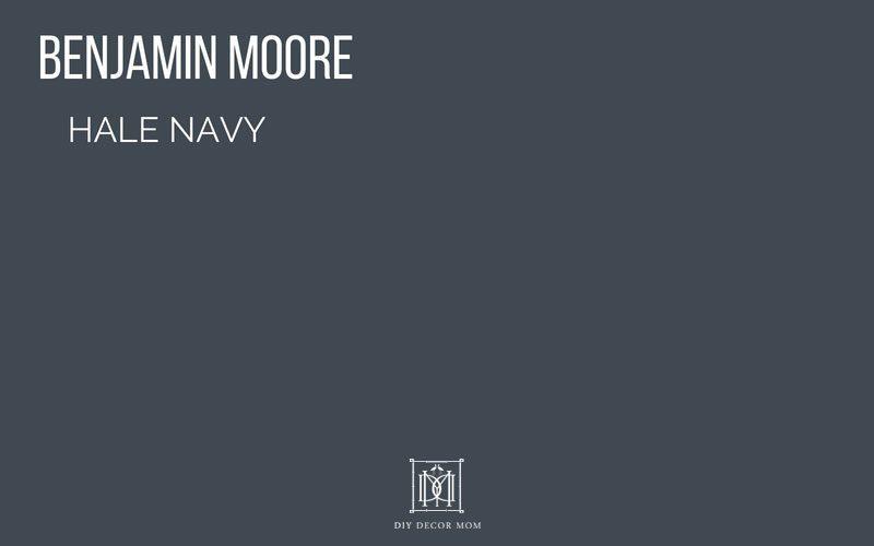 Benjamin Moore Hale Navy The Clic