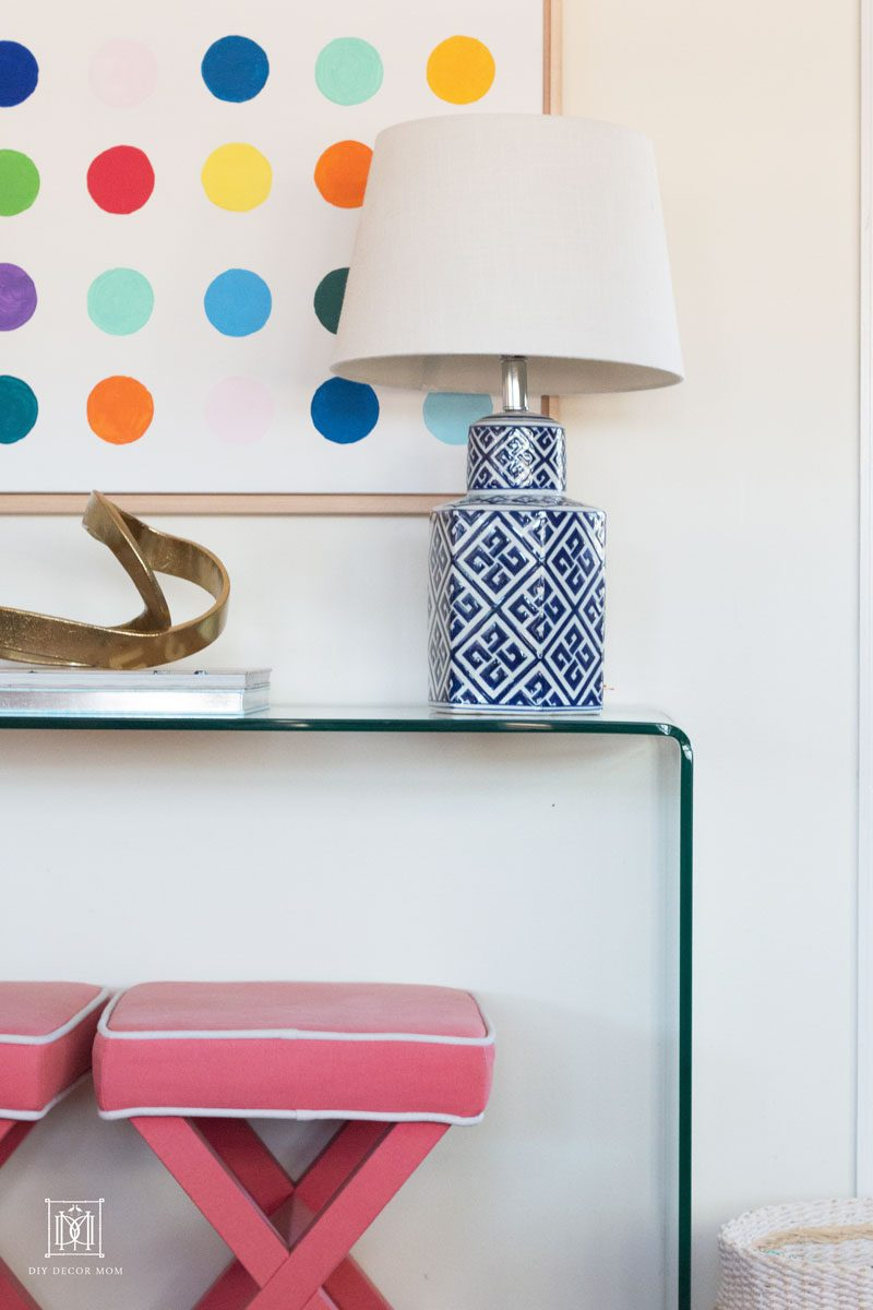 interior design tips for styling console tables like a pro