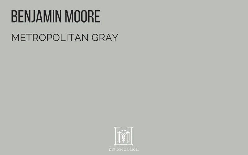 best gray paint colors- BM Metropolitan Gray
