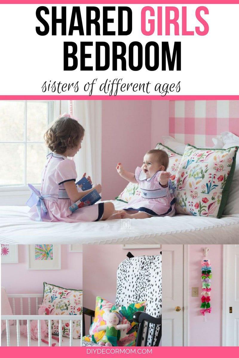 shared girls bedroom toddler