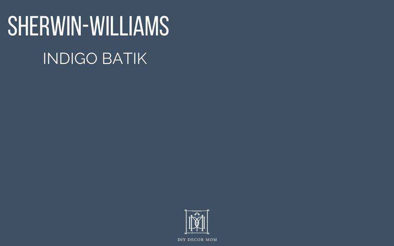 sherwin-williams indigo batik