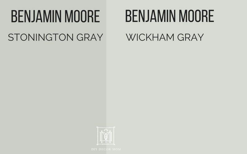 best gray paint colors- stonington gray vs wickham gray