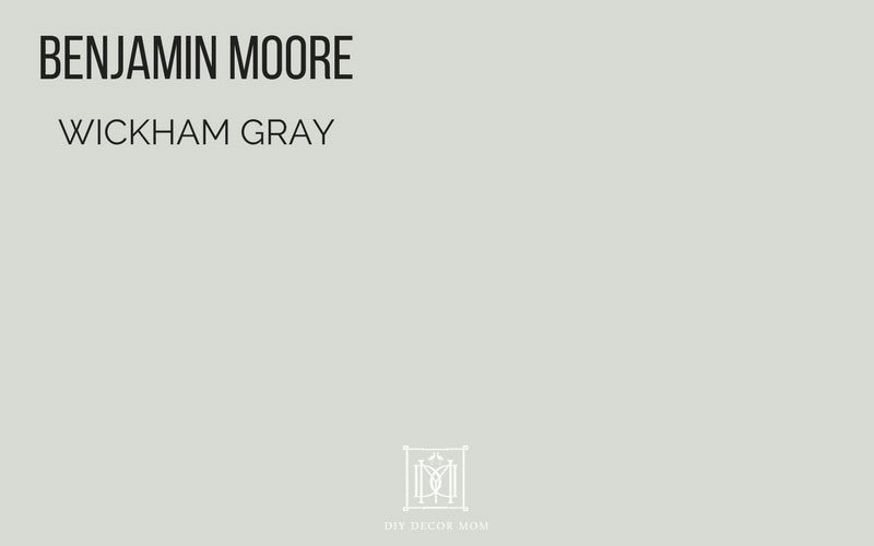 Best Gray Paint Colors Swatch Of Benjamin Moore Wickham