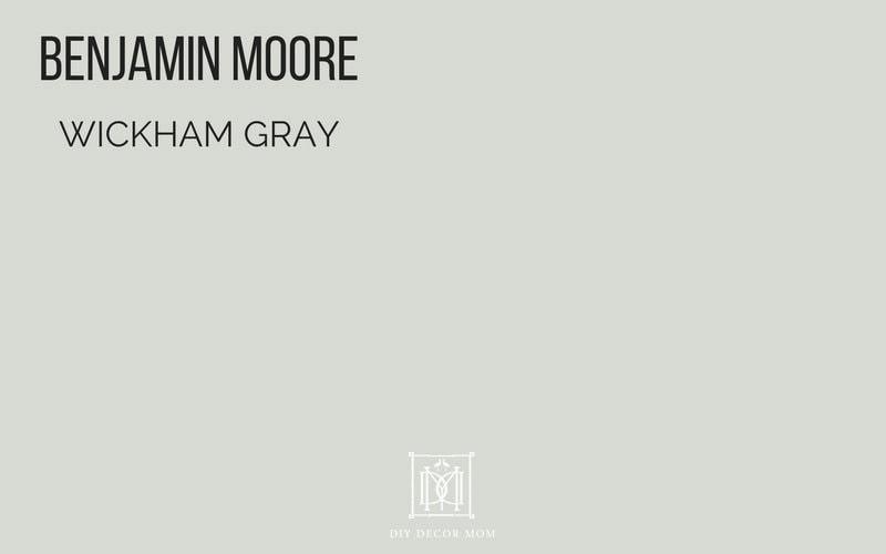best gray paint colors paint swatch of benjamin moore wickham gray