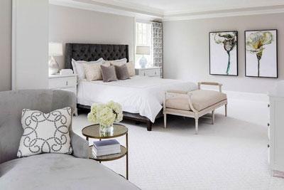 BM 1457 or BM OC-27 bedroom walls light gray paint colors