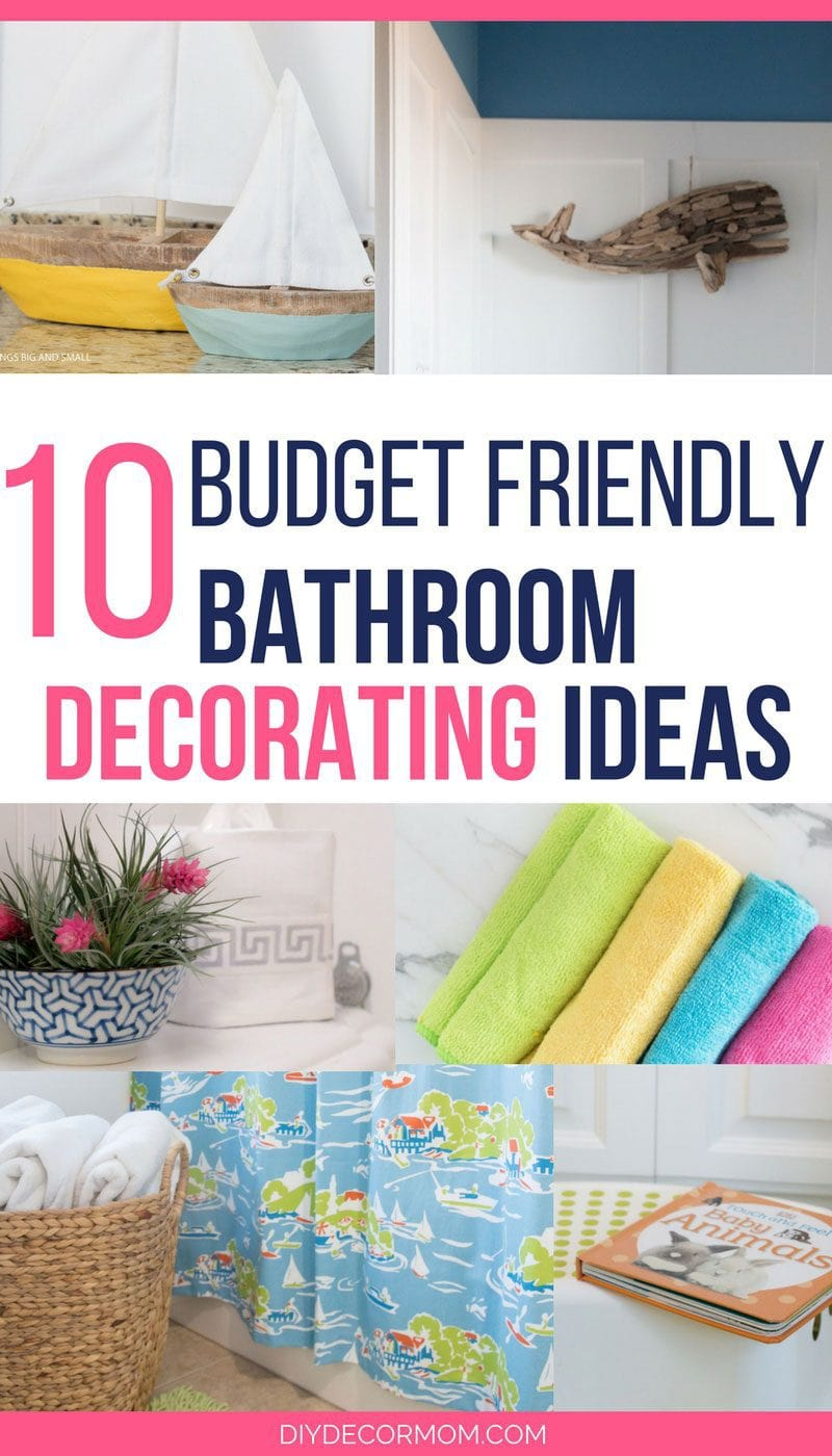 pinterest diy home decor on a budget bathroom decorating ideas the best budget friendly ideas 13674