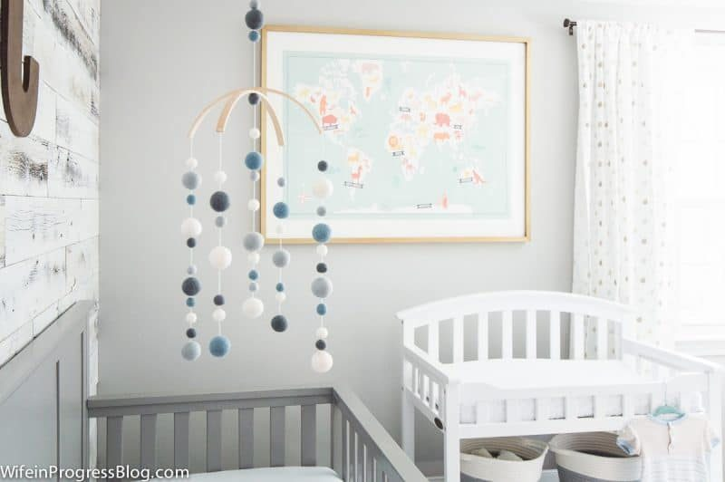 wife in progress rustic bright nursery how to decorate with kids