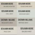 best light gray paint colors