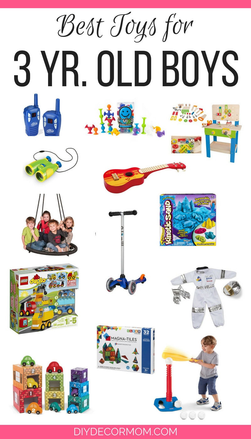 Toys For 3 Year Boys : Toys for year old boys they re guaranteed to love
