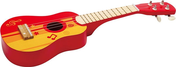 classic gifts for 3 yr olds like a ukelele
