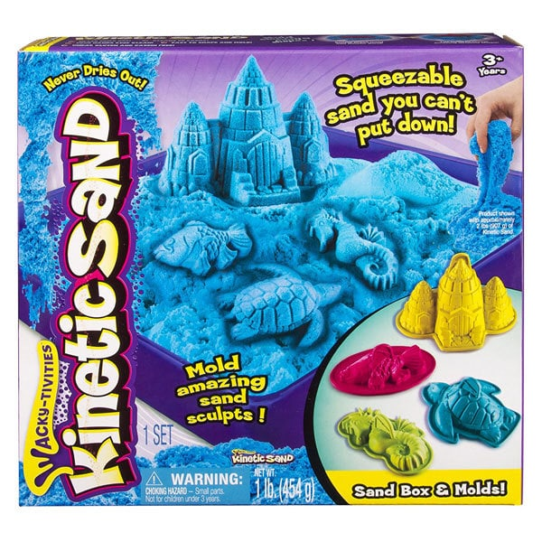 magic sand and kinetic sand great present for 3 yr old boy