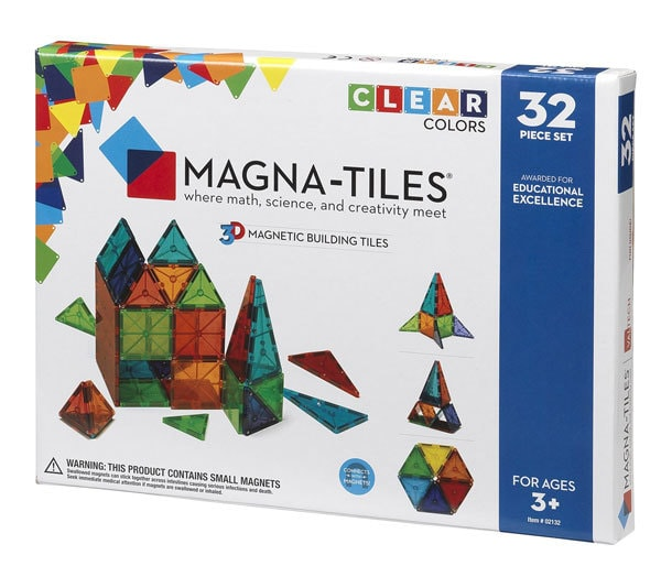 magnatiles building blocks for 3 yr old boys