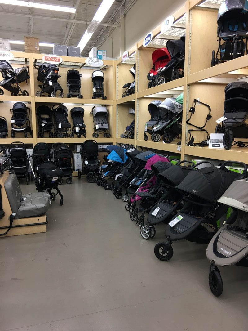 stroller options for traveling with baby