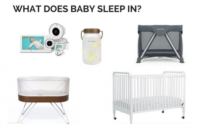 what does baby sleep in all the baby registry must haves you need for sleeping