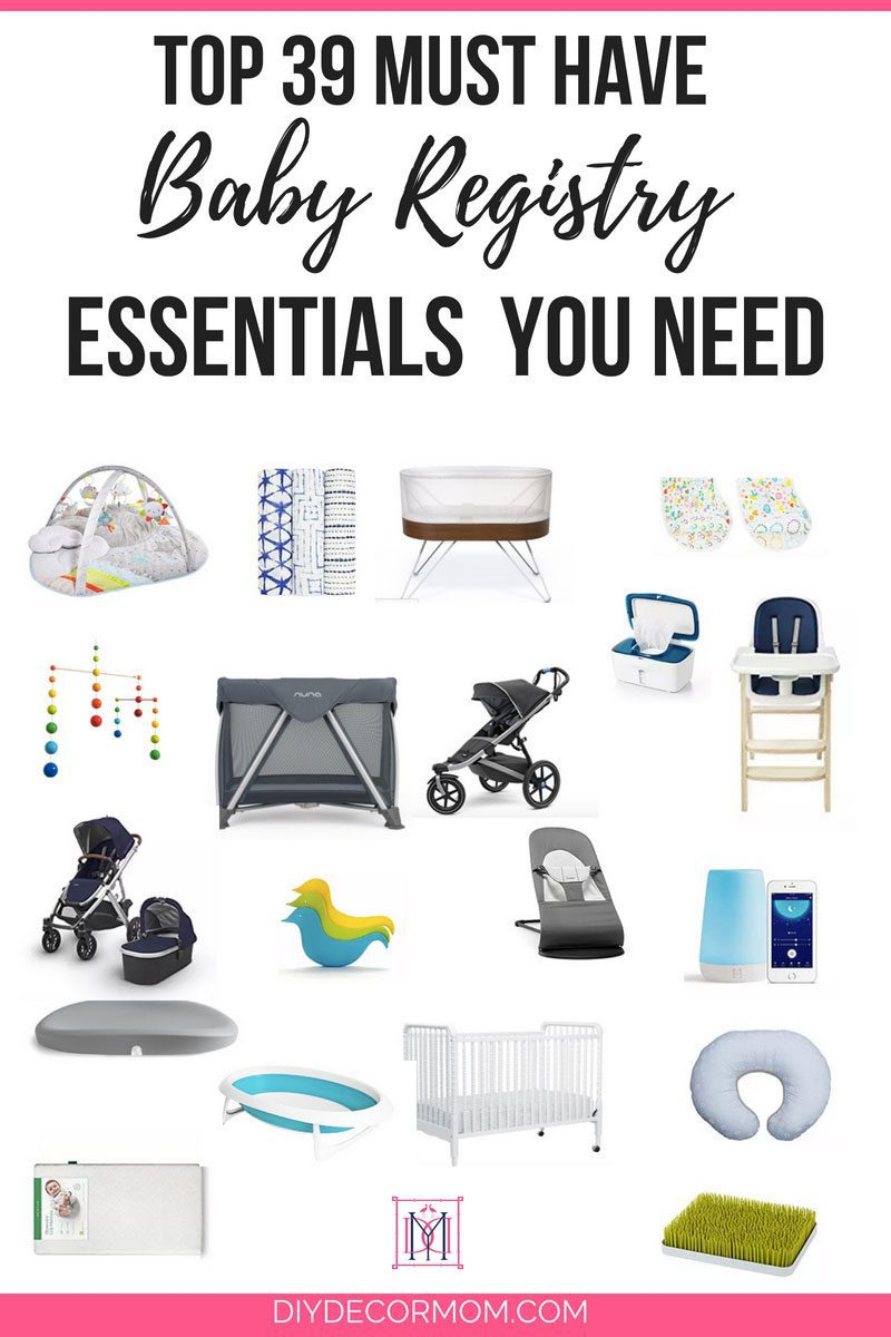 baby registry must haves for first time moms