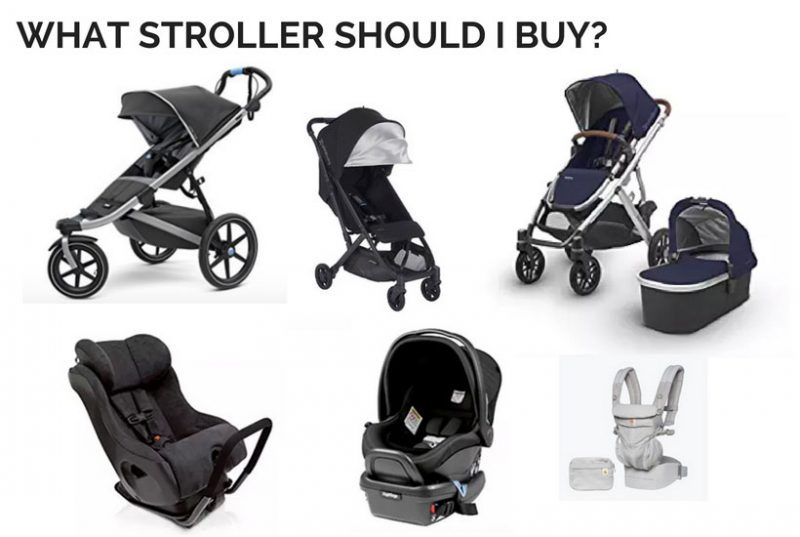 baby registry must haves stroller options answers what stroller should i buy