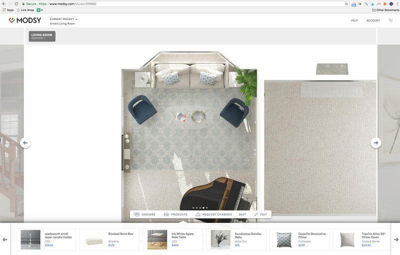 Overhead Floor Layout Of A Small Living Room Furniture Arrangement