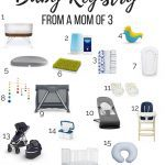 the ultimate guide to what to register for your baby inclulding baby registry must haves
