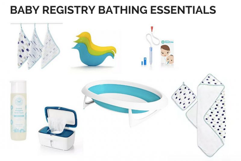 what are the must have baby registry essentials
