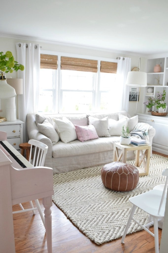cloud white room by Nesting in Grace