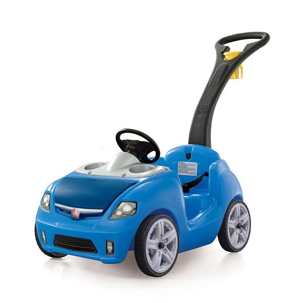 gift ideas for one year old blue push ride push car