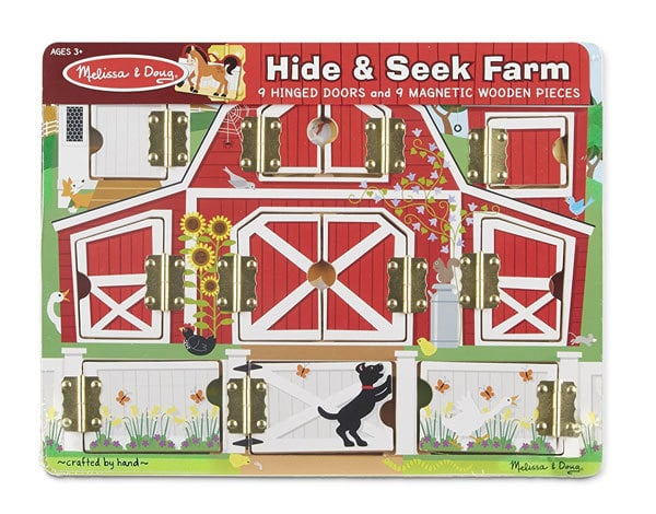 top toys for one year old melissa and doug hide and seek puzzle