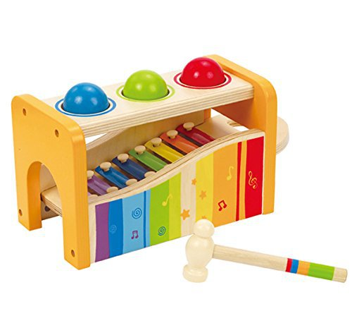 what are the best toys for one year old pounding bench hape