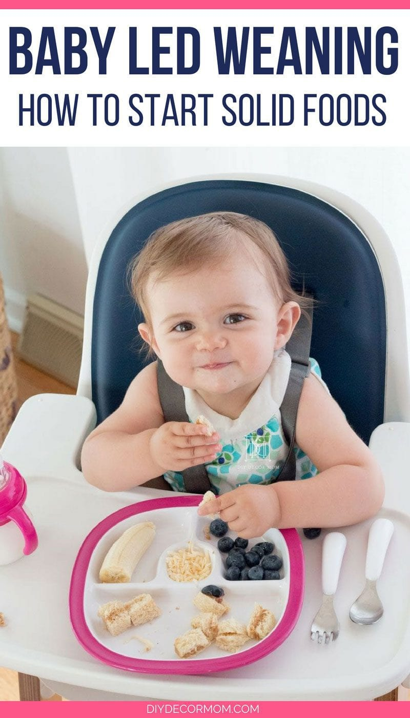 baby led weaning- what is baby led weaning a definition and explanation of the benefits