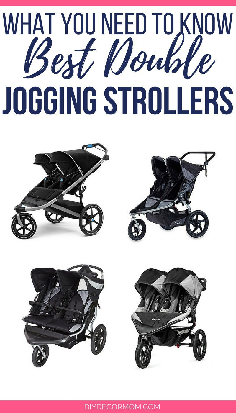 what is the best double jogging stroller comparison of four best jogging strollers for babies and toddlers